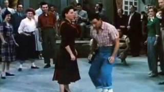 Summer Stock (1950) - Judy Garland and Gene Kelly - Barn dance scene