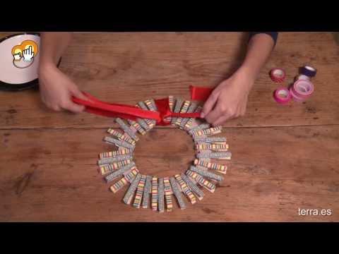 Download link youtube haz tu propia corona de adviento - Como decorar la corona de adviento ...