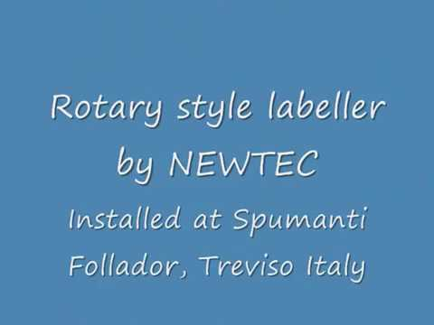 Newtec Rotary Labeller