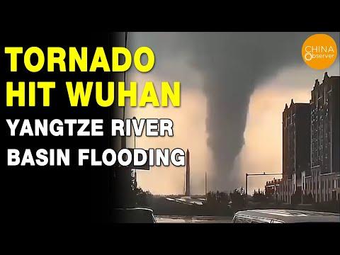 Wuhan gaat gebukt onder vreselijk weer