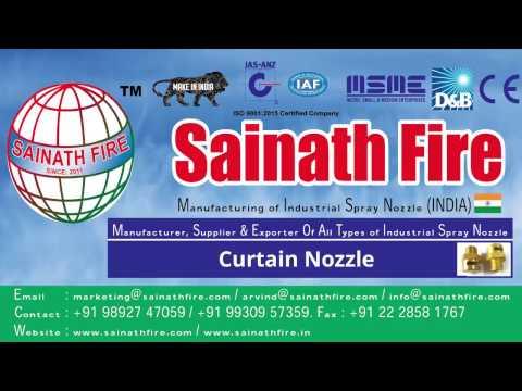 Fire Curtain Nozzle