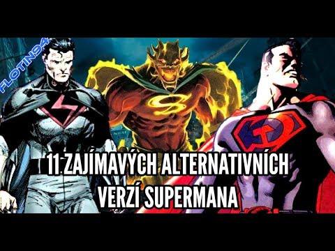 11 ZAJÍMAVÝCH ALTERNATIVNÍCH VERZÍ SUPERMANA