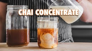 Homemade Masala Chai Concentrate (Spiced Milk Tea)
