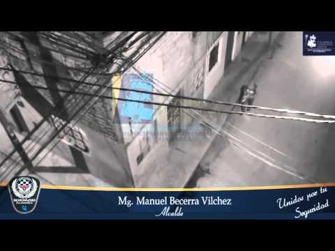 SERENAZGO CAJAMARCA - Cámaras de video vigilancia captan asalto a ebrio