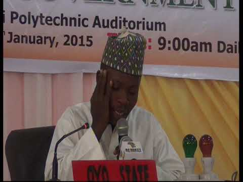 2015 Nigerian Musabaqa: Oyo Tangeem. Male Participant