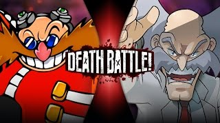 Eggman VS Wily (Sonic VS Mega Man) | DEATH BATTLE!