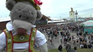preview picture of video 'Ein Bär auf Reisen (A bear on travel): Oktoberfest 2012'