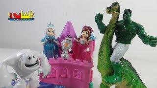 لعبة البطل العملاق هالك ينقذ السا واناا للأطفال ألعاب الشخصيات الكرتونية للأولاد والبنات