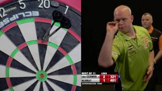 DARTS HISTORY!!!  2x 9 Darters!! MVG Vs Ryan Murray (Full Match!!)