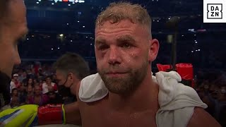 Billy Joe Saunders Reportedly Suffers Fractured Orbital Bone, Taken To Hospital Post-Fight