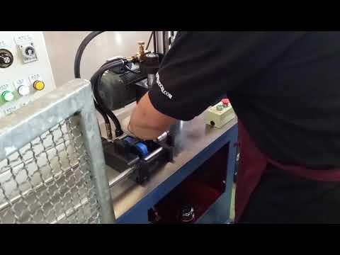 TD-42815 Hydraulic Rolled Tube Processing Machine(GAS SPRING), Tube rolling machine, tube shrinking machine, groove wheel machine, wheel convex machine, pipe cutting machine, wheel cutting machine