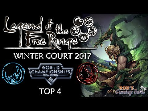 Legend of the Five Rings – Worlds 2017 (Top 4)