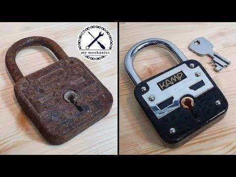 An old padlock restoration, real workmanship.