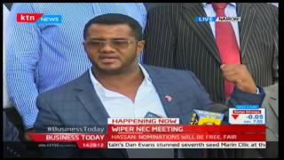 Wiper Democratic Movement brief the media, confirm nominations will be free and fair