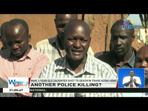 A man and his 4-year-old daughter shot dead in Trans Nzoia home