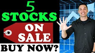 5 Discounted Stocks for 2019 and Beyond!