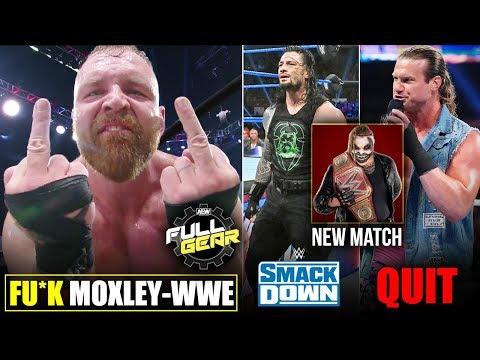 Jon Moxley & WWE Shocking😲 'FU*K STORY'! Ziggler QUIT, Renee Reaction AEW Full Gear Highlights