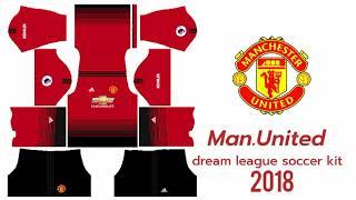 huge selection of b9170 7b703 Jersey Kit Dls Mancester United 2019