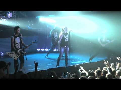 LOUNA - Время Х (live in P!PL, Moscow, 03.03.12)
