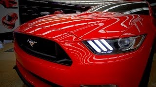 NEW 2015 Ford Mustang DESIGN