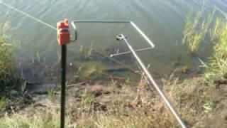 Рыбалка как сделать подсекатель для рыбалки