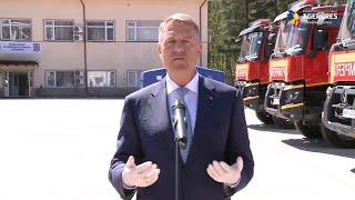 Declarații de presă susținute de președintele Klaus Iohannis