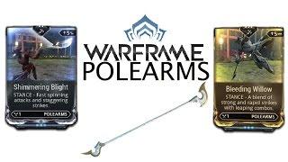 Warframe Stances - Shimmering Blight  Bleeding Willow (Polearms)