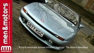 Richard Hammond Reviews A French Supercar - The Venturi Atlantique