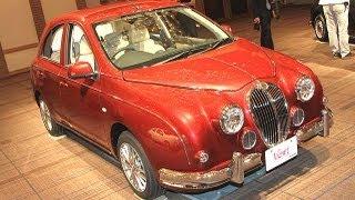光岡自動車、新型「ビュート」発売=職人が手作りするエレガントカー