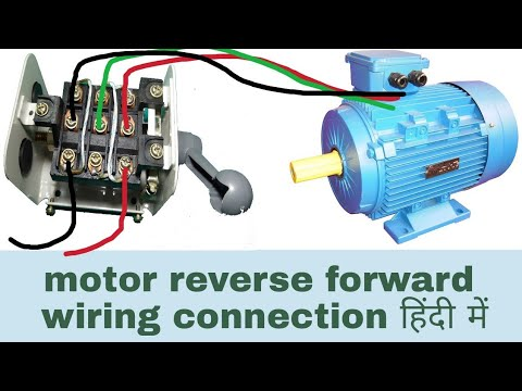 3 Phase Motor Reverse Forward Circuit Diagram