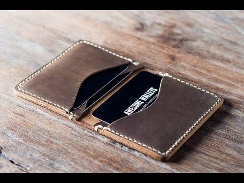 Credit Card Wallet - Handmade by JooJoobs