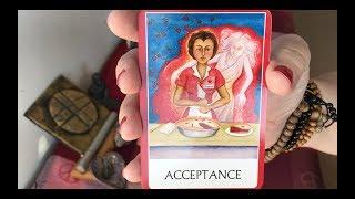 "VIRGO mid-December 2017 Tarot:  ""ACCEPTANCE"" -- self-love is key! 💖"
