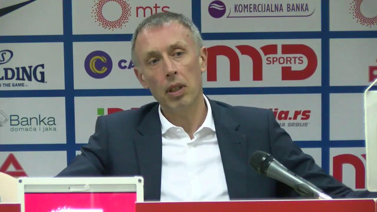 KK Crvena zvezda mts - press conference
