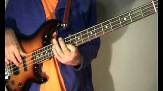 Eddie Floyd - Knock On Wood - Bass Cover