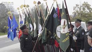 Spominska slovesnost v Veržeju ob odkritju plošče Maistrovim borcem