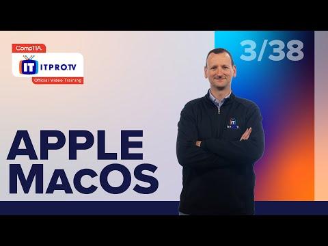 Apple macOS | CompTIA IT Fundamentals+ (FC0-U61) | Part 3 of 38 ...