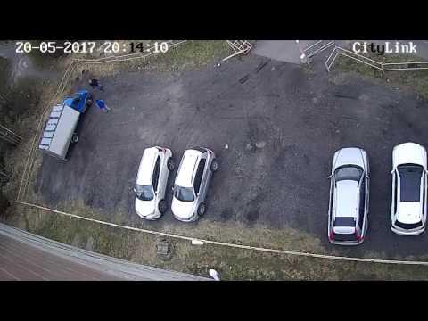 Трудности парковки в пьяном виде