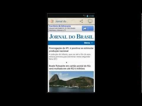 Vídeo do Jornal do Brasil
