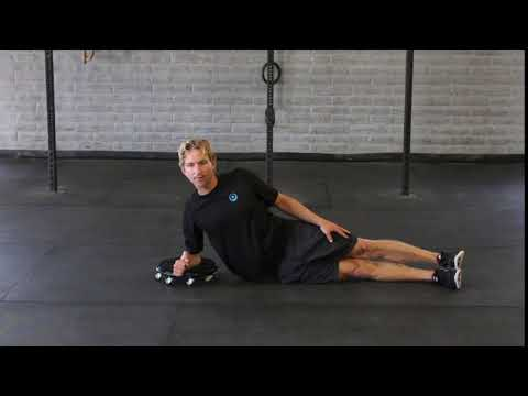 Side Plank Shoulder Roll Out