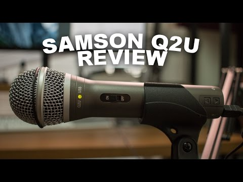 Samson Q2u USB/XLR Microphone Review / Test