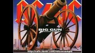 AC/DC - big gun (vocal cover)