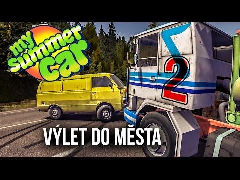 My Summer Car | #2 Výlet do města [CZ/1080p/60FPS]