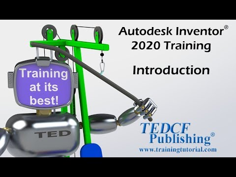 Autodesk Inventor 2020 Training Introduction - YouTube