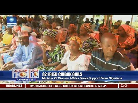 News@10: FG Urges Nigerians' Support For Chibok Girls 20/05/17 Pt 1