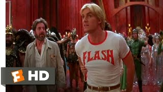 Flash Gordon (2/10) Movie CLIP - Football Fight (1980) HD