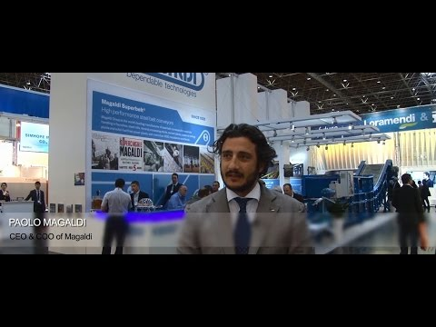 Watch Magaldi CEO, Speak about the Successful Superbelt Conveyer and Casting Cooler Technology