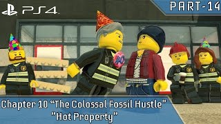 "LEGO City Undercover PS4 Pro Part 2 Chapter 10 ""The Colossal Fossil Hustle"" ""Hot Property"""