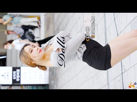 200813 댄스팀 클락(CLOCK) 정인(Jeong-In) Dolls(9Muses) 레전드(Legend) 직캠(Fancam) [홍대버스킹] 4K60p