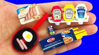 12 DIY MINIATURE FOOD AND MORE  REALISTIC HACKS AND CRAFTS !!!