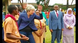 faze tari Theresa May danseaza